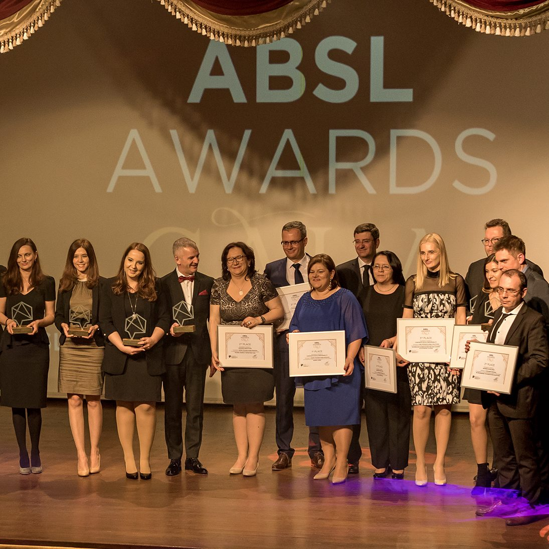 ABSL Awards Gala – winners