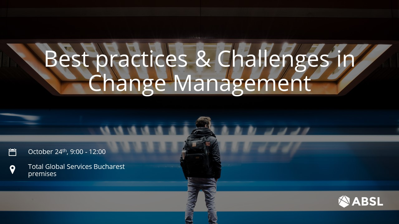 Best practices & Challenges in Change Management