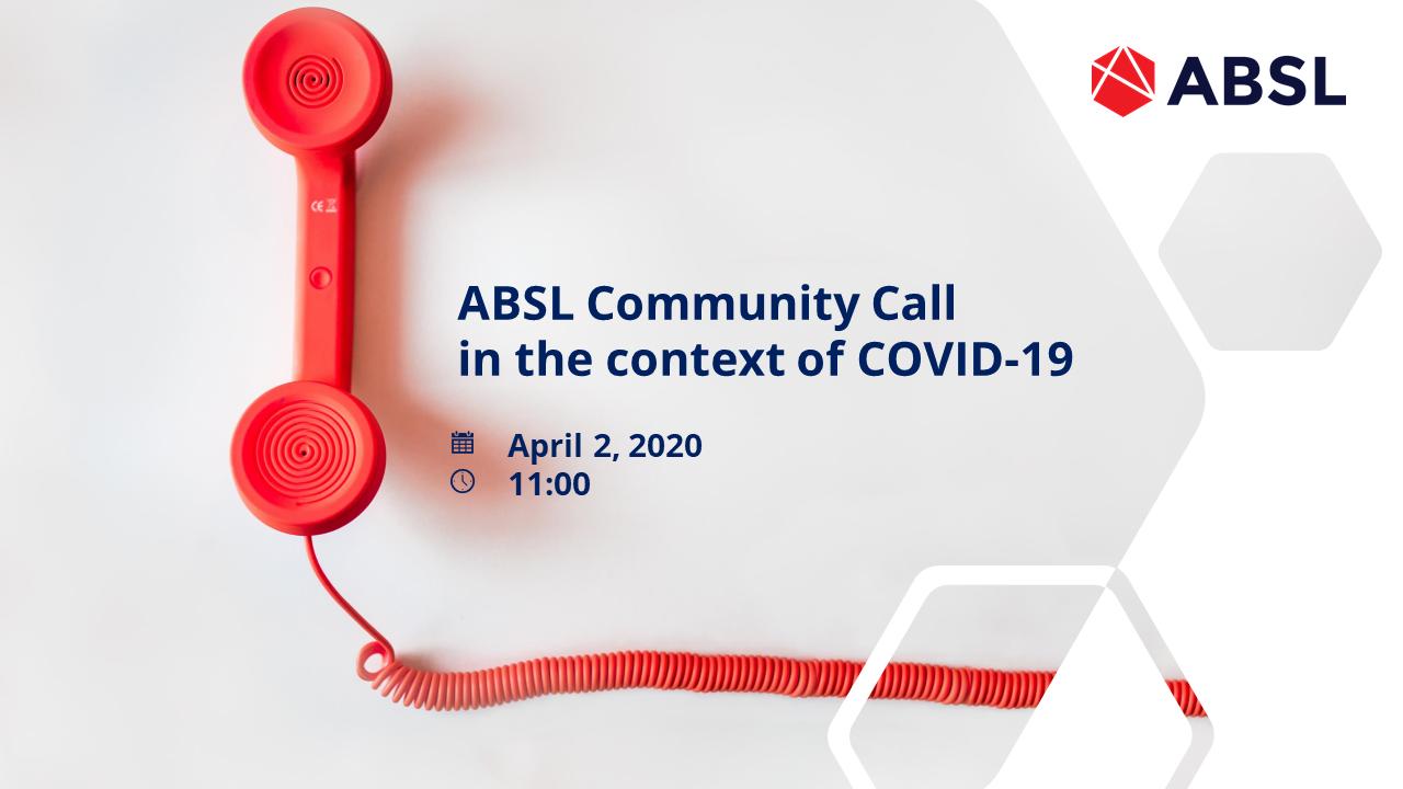 ABSL Community Call